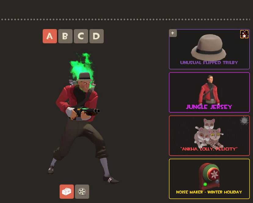 Favorite Scout Cosmetic Loadout? - Team Fortress 2 Discussions