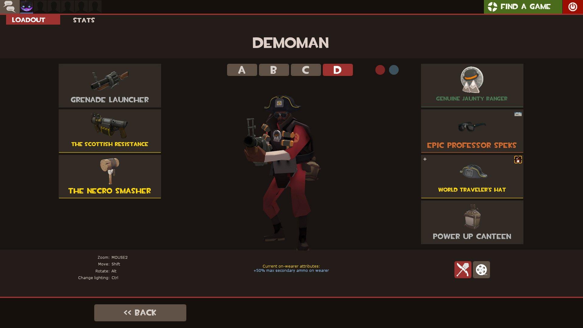 Demoman Cosmetics